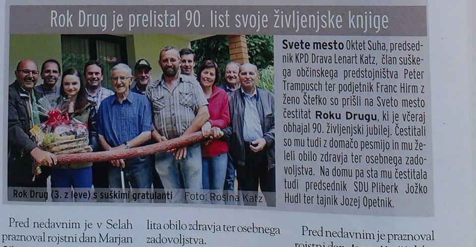 Rochus Drug 90 Jahre