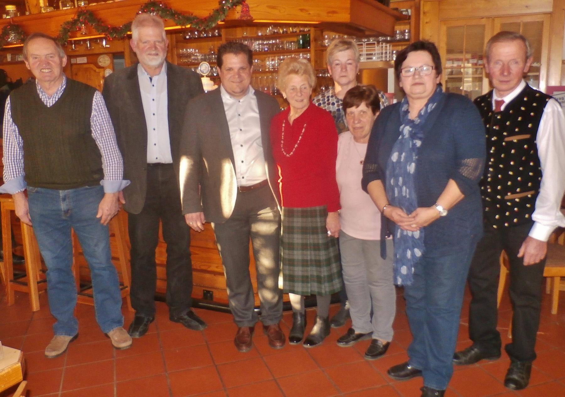 Weihnachtsfeier Seniorenbund Neuhaus