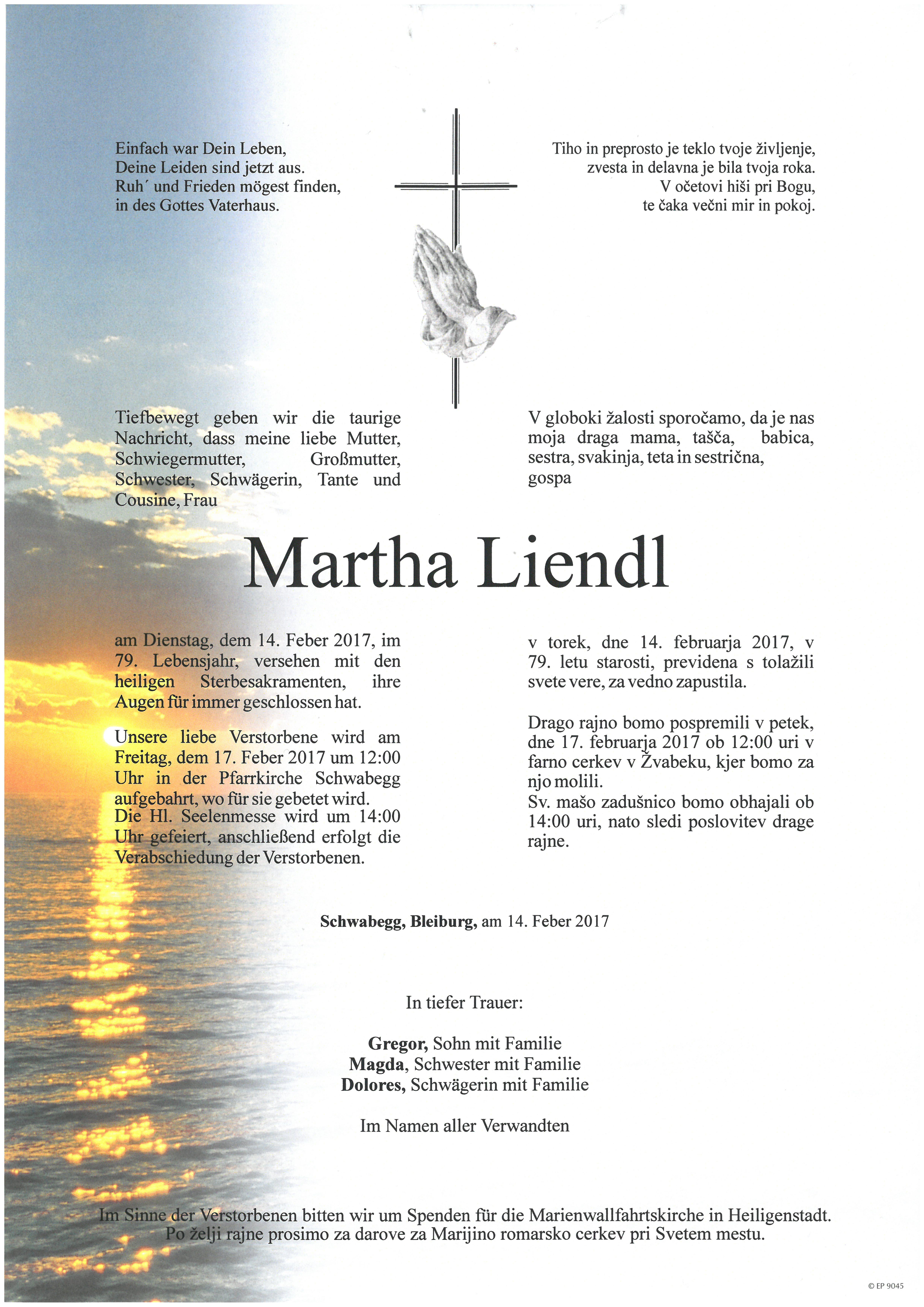 Parte Martha Liendl