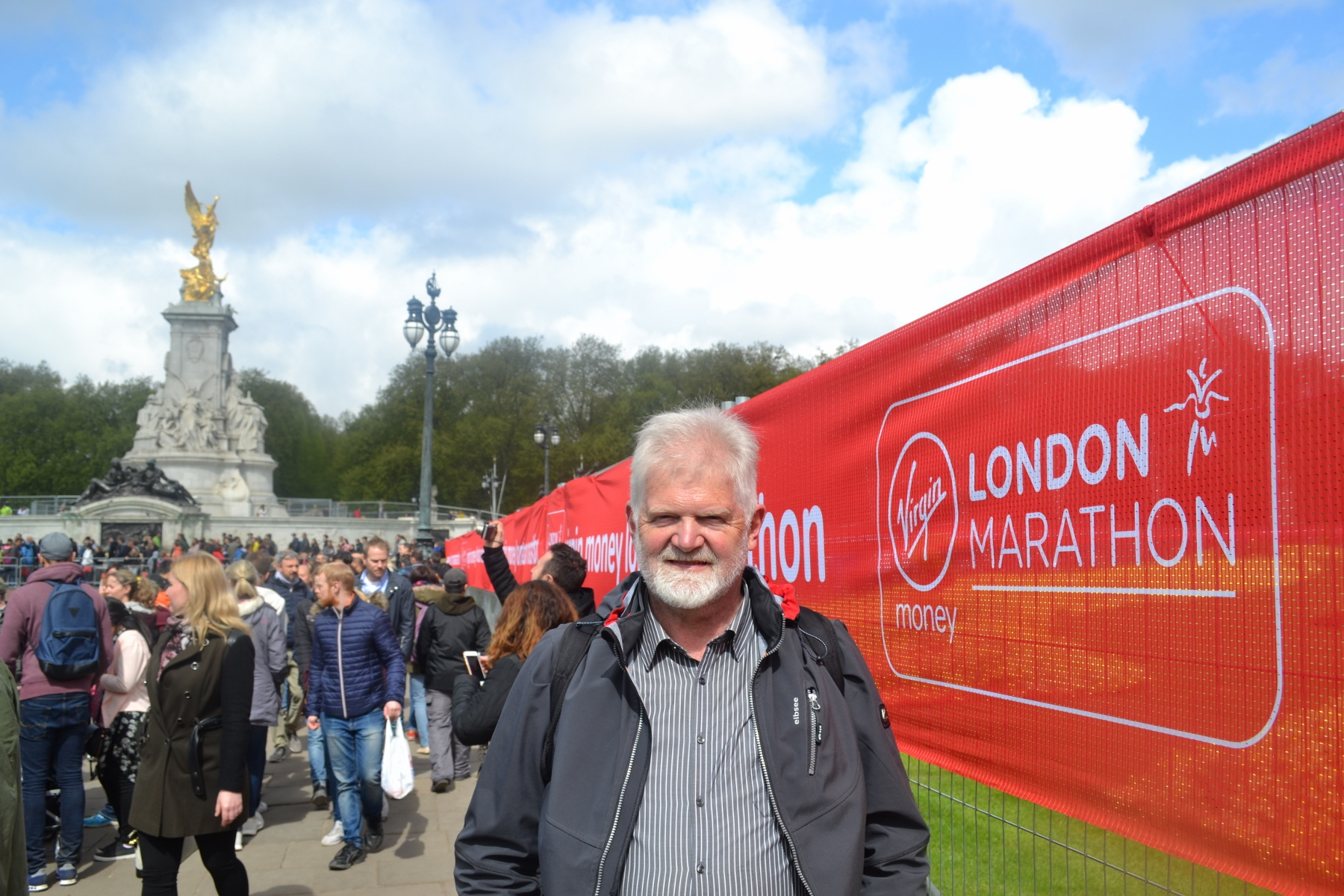 Greetings from the preparations for the London Marathon