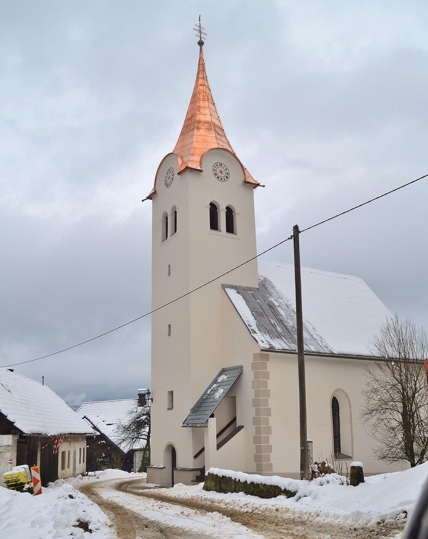 Neues Kirchturmdach