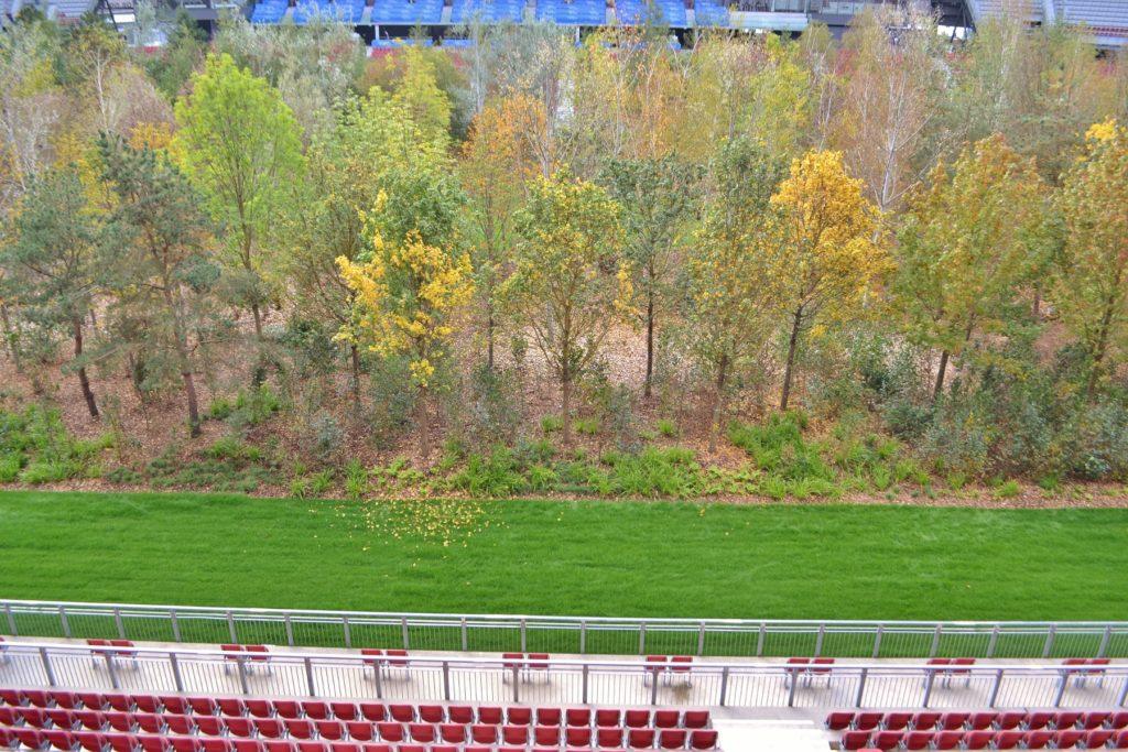 For Forest Im Worthersee Stadion In Klagenfurt Die