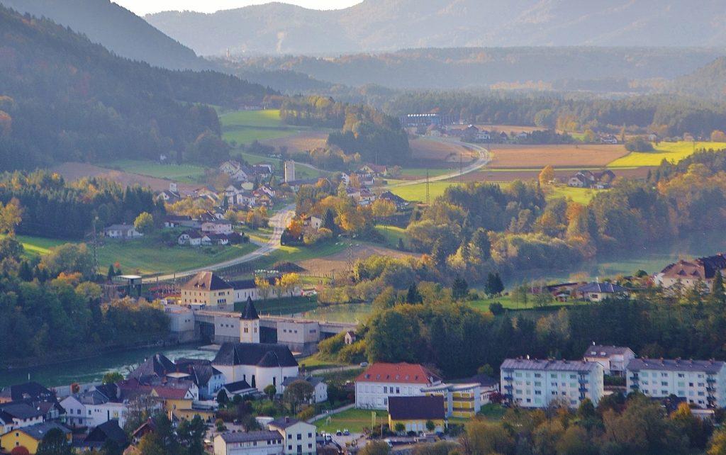 Lavamnd, Carinthia (Austria) - Flags of the World